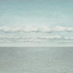 Wolken en zee