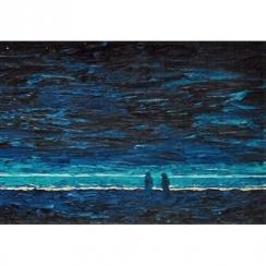 Zee bij nacht